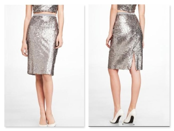 Express Sparkly Skirt