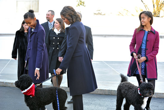 Michelle-Obama-Welcomes-White-House-Christmas-Tree